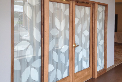 Custom Decorative Window Film salt lake city | decorative window film - scottish window tinting
