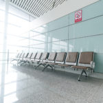 Frosted privacy airport film1