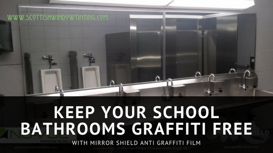 "Here's Why Anti Graffiti ""Mirror Shield"" Window Film Is a Great Choice for Ft Collins Schools"