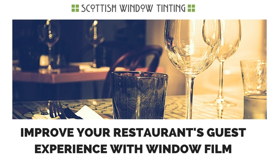3 Ways Window Film Helps Improve Your Denver Restaurant's Guest Experience