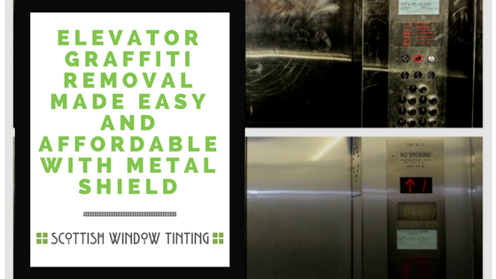 Elevator Graffiti Removal Made Easy And Affordable With Metal Shield