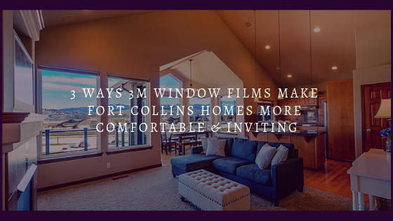 3 Ways 3M Window Films Make Fort Collins Homes More Comfortable & Inviting
